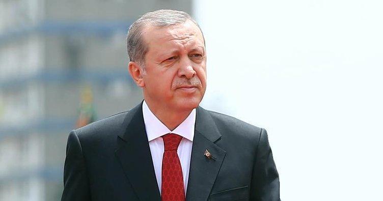 Erdoğan'dan şehit ailelerine başsağlığı telgrafı!
