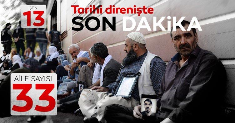 HDP önündeki eylemde 13'üncü gün; aile sayısı 33 oldu