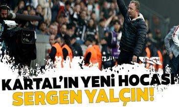 Beşiktaş'ın yeni hocası Sergen Yalçın