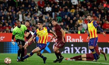 Pique'li Katalonya, Venezuela'yı 2-1 mağlup etti