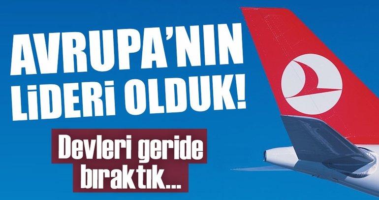 Türkiye uçuş ağında Avrupa'nın lideri oldu!