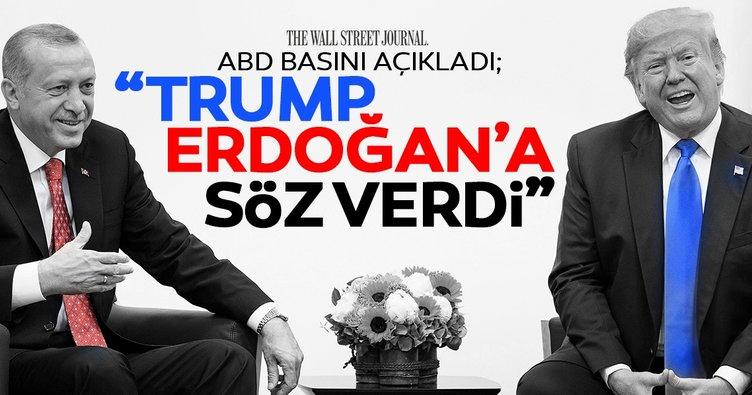 ABD Basını yazdı: Trump Erdoğan'a yaptırım yok güvencesi verdi