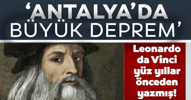 Son dakika haberler:  Leonardo da Vinci'nin günlüğünde Türkiye sözleri! Yüzyıllar önce yazmış...