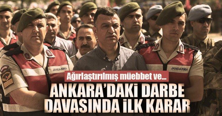 Darbe girişimi davalarında Ankara'daki ilk karar açıklandı