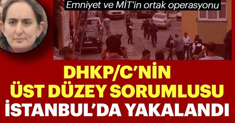 Mavi Liste'deki DHKP/C'li terörist İstanbul'da yakalandı