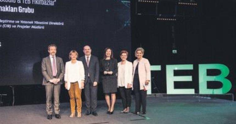 TEB'in inovasyon ödülleri dağıtıldı