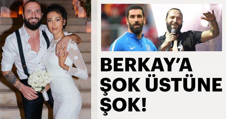 Arda Turan ile kavga eden şarkıcı Berkay'a şok üstüne şok!