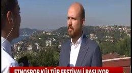 """Bilal Erdoğan'dan """"Etnospor Kültür Festivali"""" hakkında flaş açıklamalar"""