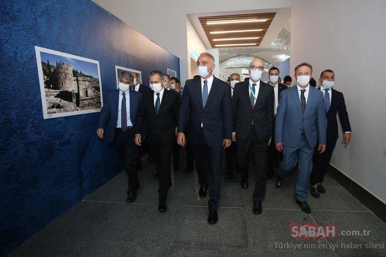 Dünyanın en büyüğü! İstanbul Havalimanı'nda hizmete girdi