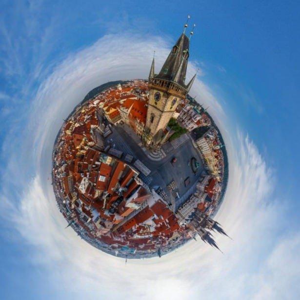 Dünyayı 360 derece gördünüz mü?