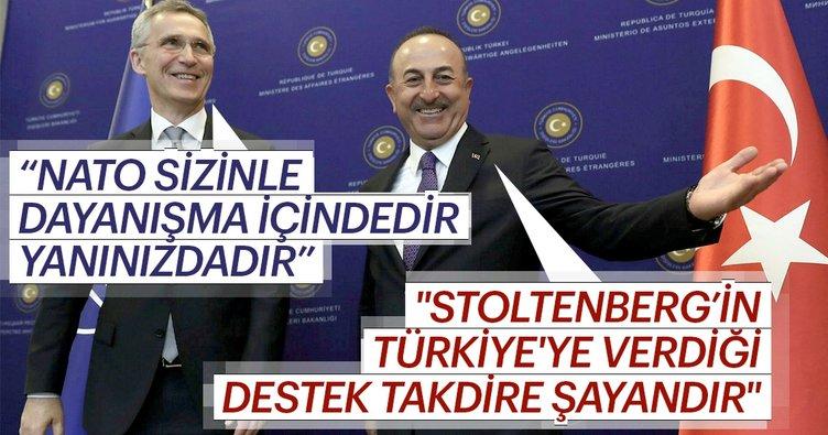 Dışişleri Bakanı Mevlüt Çavuşoğlu ve NATO Genel Sekreteri Jens Stoltenberg'dan ortak açıklama