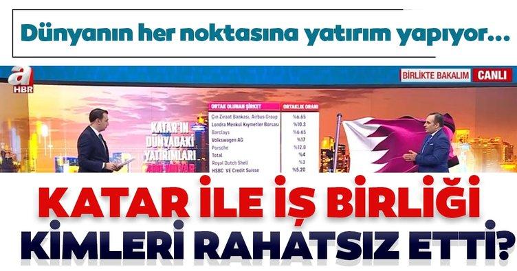 Katar ile iş birliği kimleri rahatsız etti? Faruk Erdem A Haber ekranlarında açıkladı