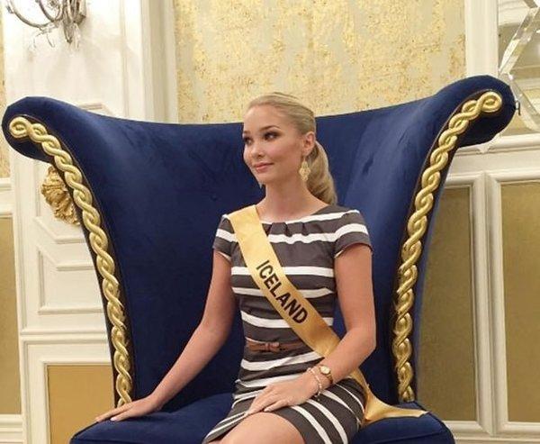 Yeni sosyal medya fenomeni İzlanda güzellik kraliçesi