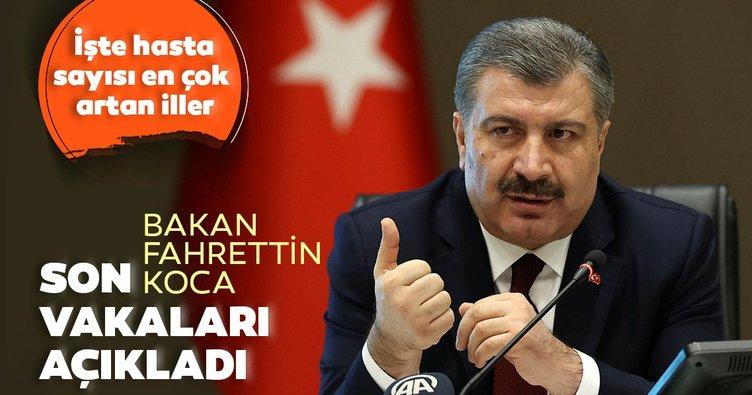 Son dakika haberi: Bakan Fahrettin Koca 6 Eylül koronavirüs vaka ve vefat sayılarını açıkladı! İşte, Türkiye'de corona virüs son durum tablosu
