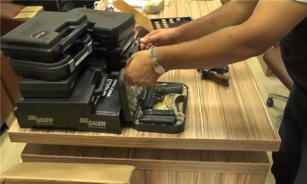 Tutuklanan savcının silah koleksiyonu çıktı!