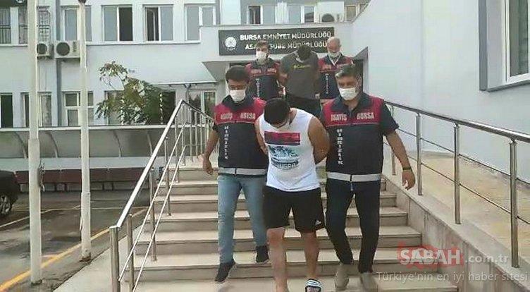 İstanbul'dan gelip Bursa'da hırsızlık yapan 4 kişi Balıkesir'de yakalandı