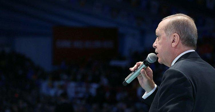 Cumhurbaşkanı Erdoğan Avcılar'da konuştu