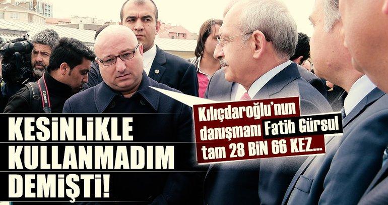 Kılıçdaroğlu'nun eski danışmanı Fatih Gürsul ile ilgili flaş tespit!