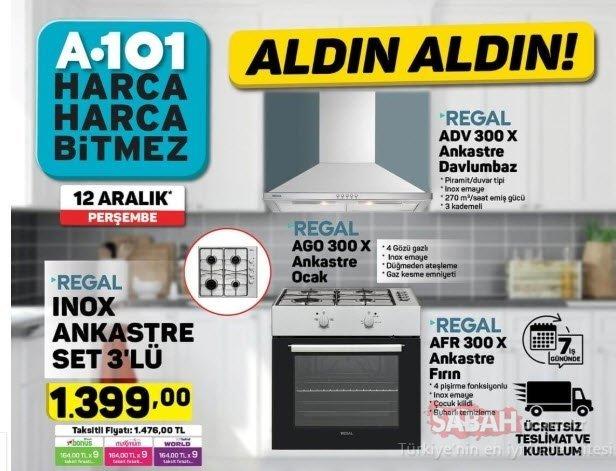 A101 aktüel ürünler listesi bu hafta da dopdolu! İşte 12 Aralık A101 kataloğu TÜM ÜRÜNLER
