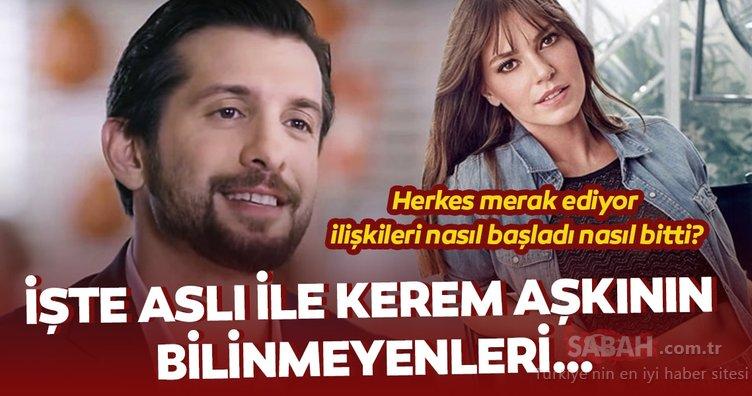 Güzel oyuncu Aslı Enver ile Kerem Tunçeri aşkının bilinmeyenleri… Herkes merak ediyor ilişkileri nasıl başladı nasıl bitti?