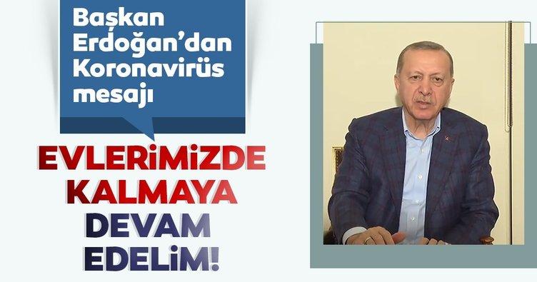 Son Dakika Haberi: Başkan Erdoğan'dan Coronavirüs paylaşımı