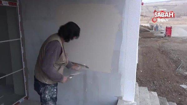 Boya badana ustasının söylediği türkü ve klibi sosyal medyada beğeni topladı   Video