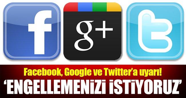 AB'den Facebook, Twitter ve Google'a uyarı!