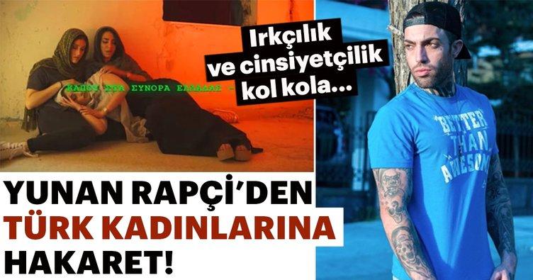 Yunan şarkıcının Türk kadınlarını aşağılayan şarkısına tepki yağıyor