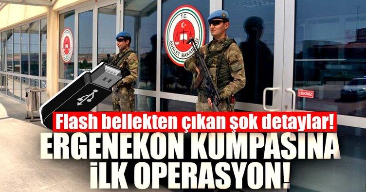 Son dakika: Ergenekon kumpasına ilk operasyon