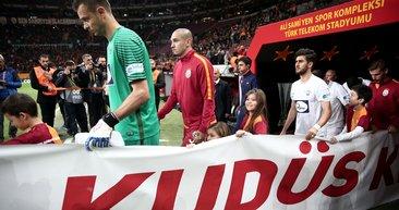 Galatasaray'dan Kudüs mesajları