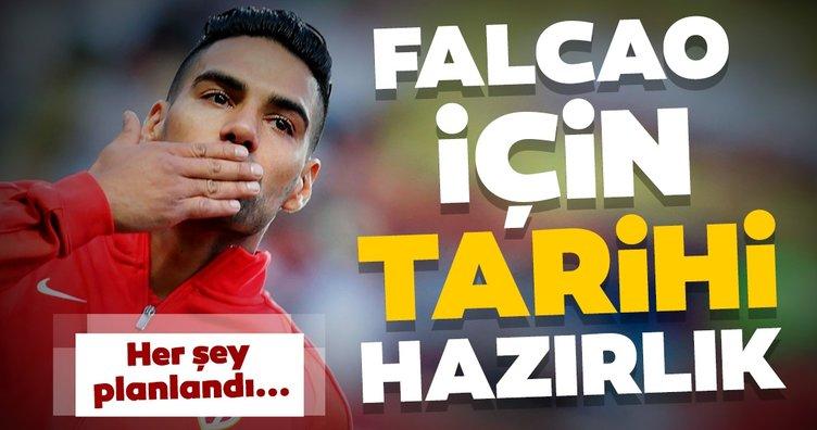 Galatasaray transfer haberleri: Falcao için tarihi bir imza töreni hazırlanıyor