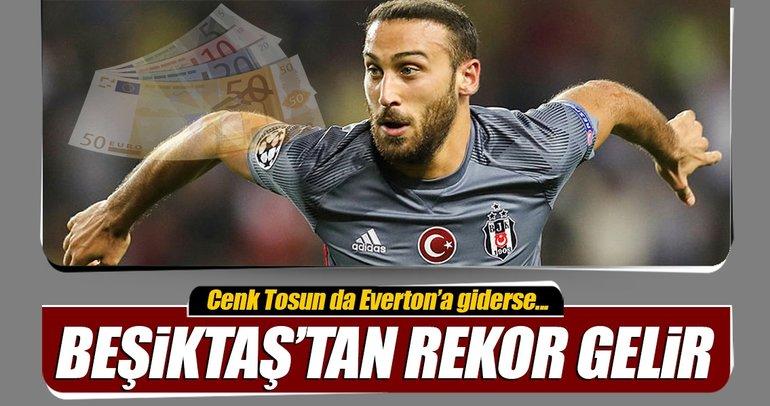 Beşiktaş'tan Türk futbol tarihine geçecek gelir!