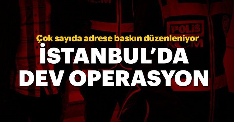 İstanbul ve Ankara'da büyük operasyon