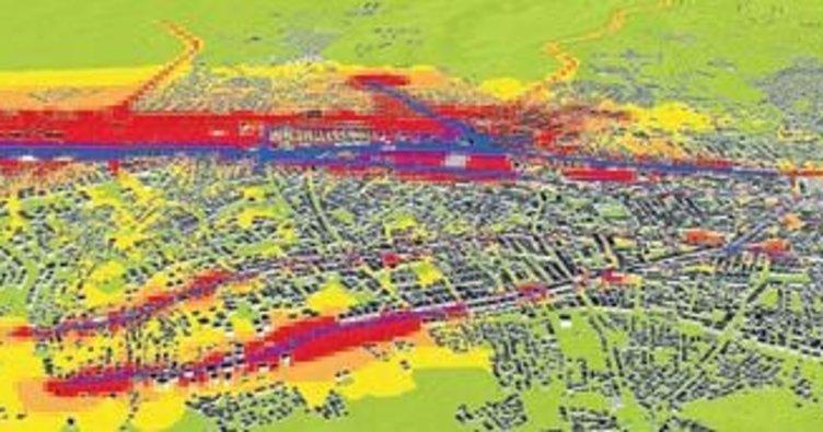 Antalya'da gürültü haritası çıkarıldı