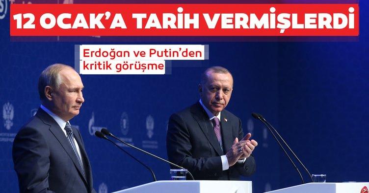 Son dakika: Erdoğan Putin ile görüştü