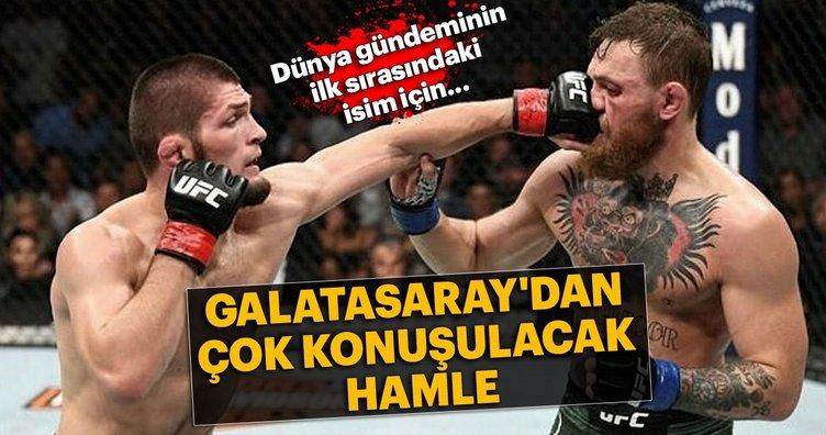 Galatasaray'dan Nurmagomedov atağı