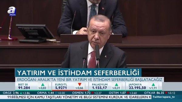 Başkan Erdoğan: Saldırıların olumsuz etkilerini siliyoruz!