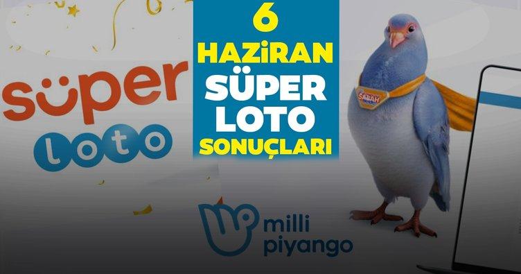 Süper Loto sonuçları belli oldu! Milli Piyango Online ile 6 Haziran Şans Topu sonuçları - kazandıran numaralarla MPİ bilet sorgulama
