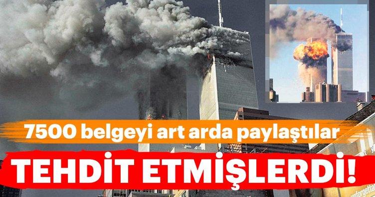 11 Eylül saldırıları ile ilgili yeni belgeler ortaya çıkarıldı!