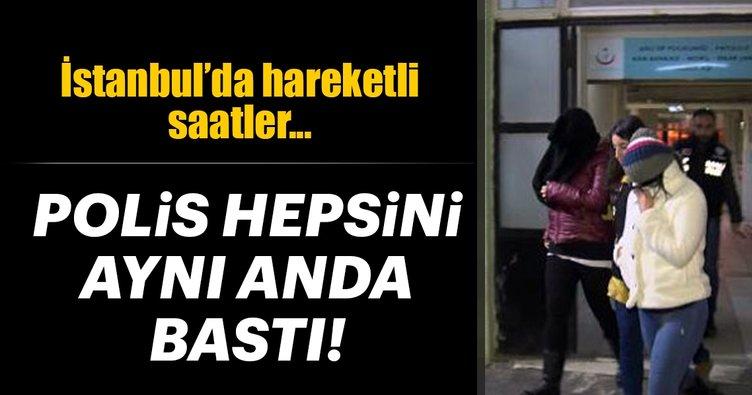 İstanbul'da Mali Şube operasyonu