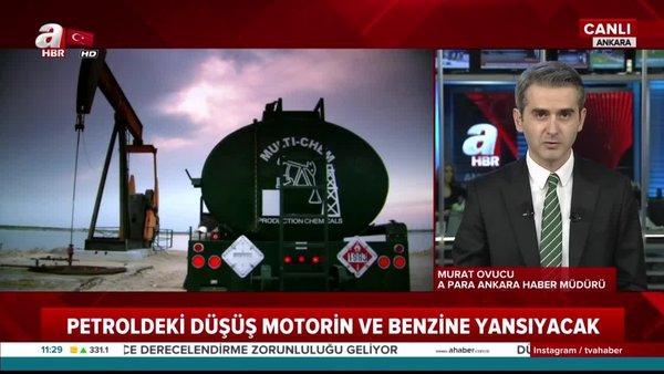 Türkiye'de benzin ve motorinde indirim ne kadar olacak? Petrol fiyatlarında şok tarihi düşüş!   Video