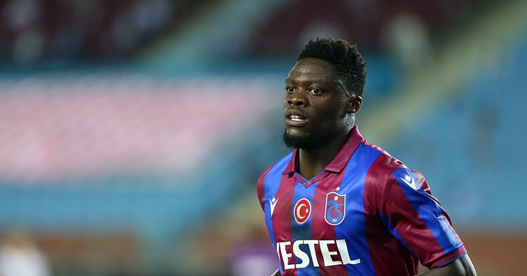 Trabzonsporlu Caleb Ekuban corona virüsüne yakalandı