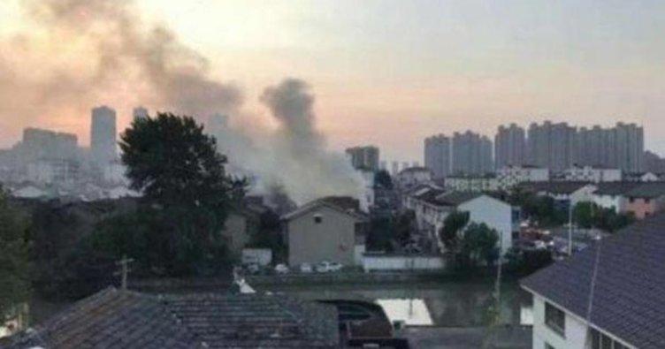 Çin'de 2 katlı binada yangın çıktı! En az 22 kişi öldü