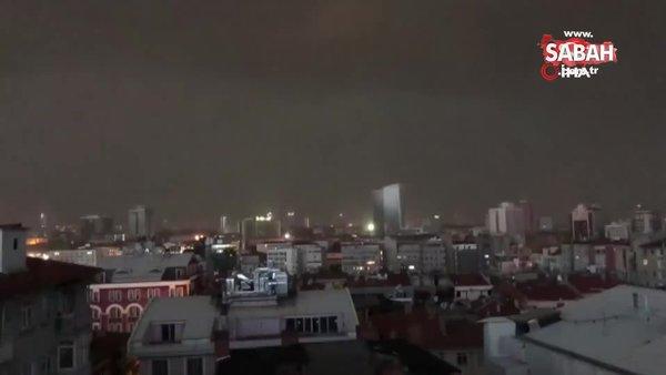 Son dakika! Ankara'da sağanak yağış ve dolu hayatı felç etti   Video