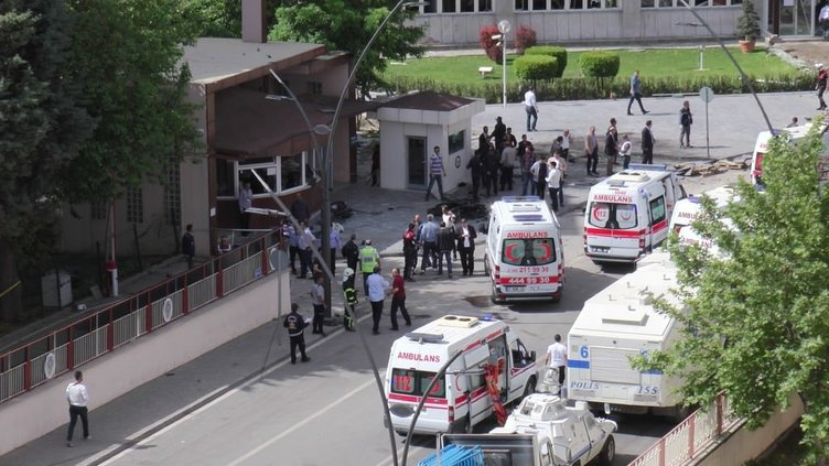 Gaziantep'te hain saldırı