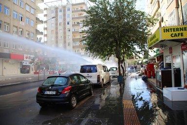 Polis dağılmayan HDP'lilere müdahale etti