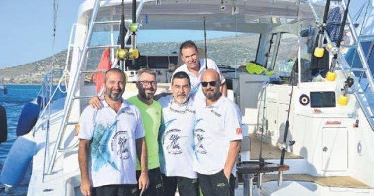 Usta balıkçılar şampiyonluk için buluştu