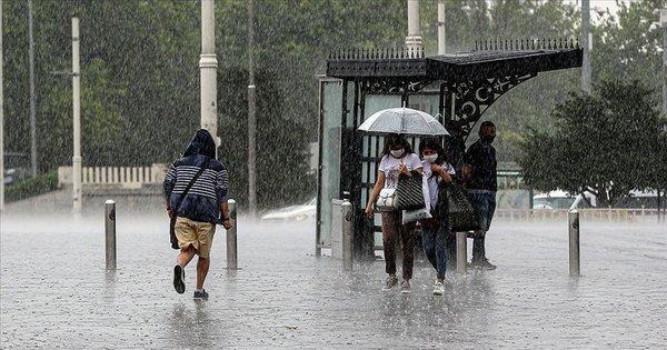 Meteoroloji'den son dakika hava durumu uyarısı! İstanbul dahil 25 ilde etkili olacak... Kuvvetli geliyor