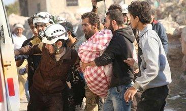 Esad rejimi ve Rusya'nın İdlib'e saldırılarında 3 kardeş hayatını kaybetti