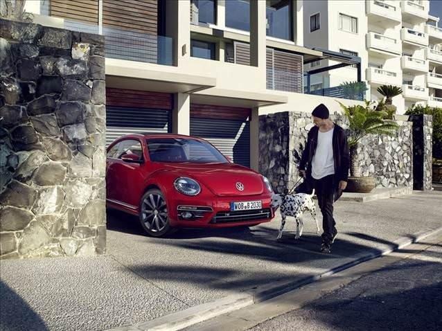 Makyajlı VW Beetle'ın detayları ortaya çıktı